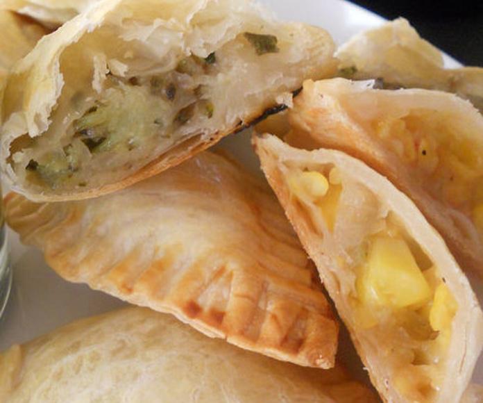 Empanadas: Catálogo de Panadería Pastelería Aller