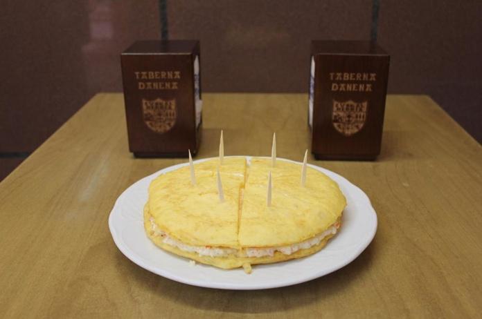 Tortilla de patata con txaka entera|default:seo.title }}
