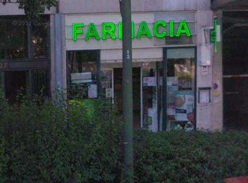 Fotos de Farmacias en Madrid   Farmacia Pontones