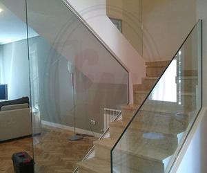 Barandillas y escaleras de cristal Madrid