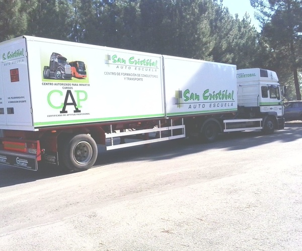 Cursos CAP en Ourense | Autoescuela San Cristóbal