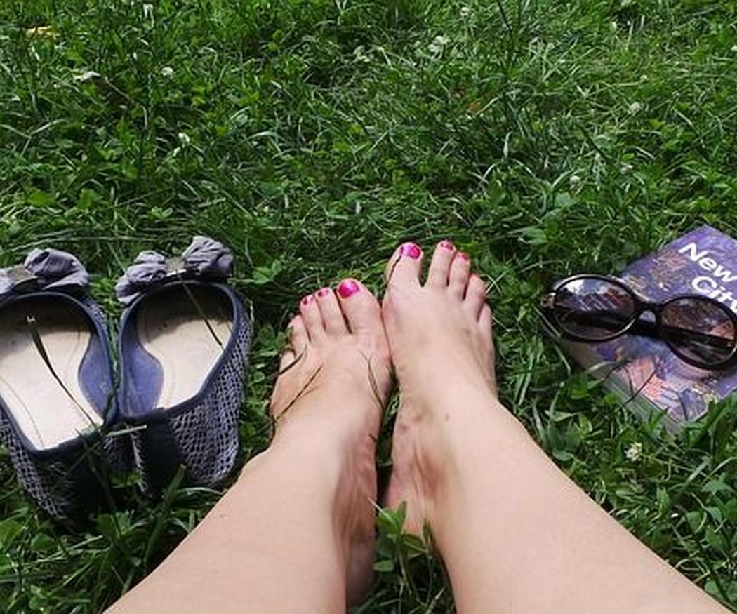Beneficios de andar descalzos