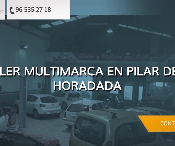Taller especializado en chapa y pintura en Alicante | Autochapa 2000