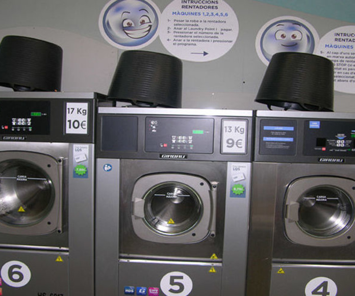 Lavandería autoservicio: Servicios de Tintoreria Bugaderia Ninot