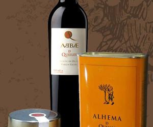 Aceite de oliva y conservas naturales