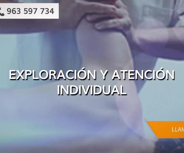 Centro de fisioterapia en Valencia