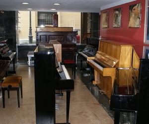 Sección de pianos