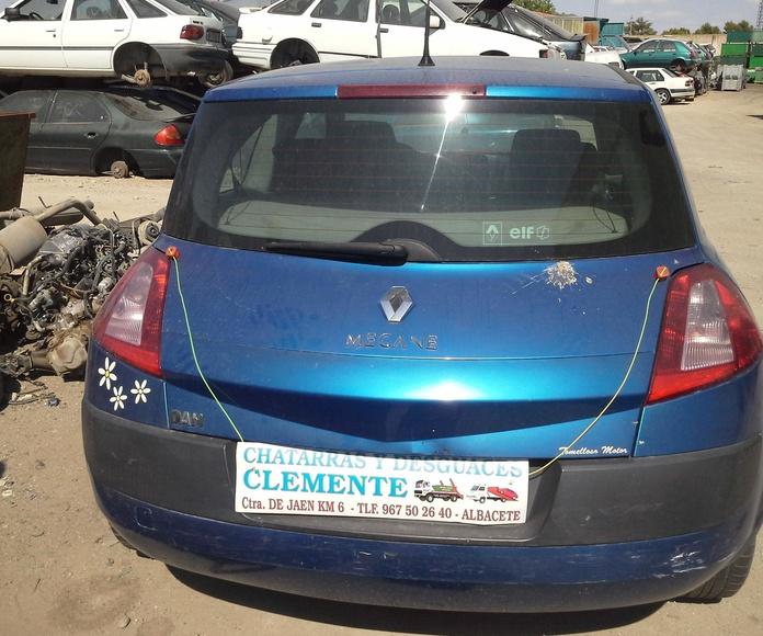 Renault Megane 04 para desguace en Desguaces Clemente de Albacete