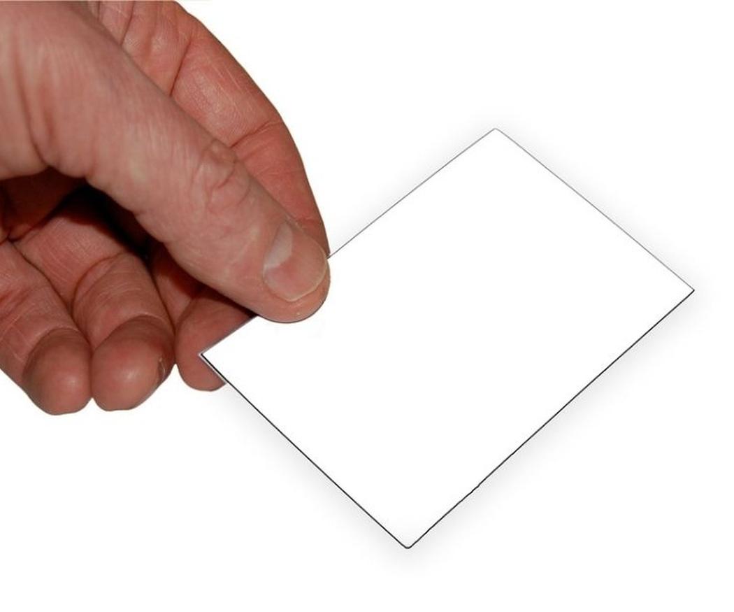 La información imprescindible en una tarjeta visita