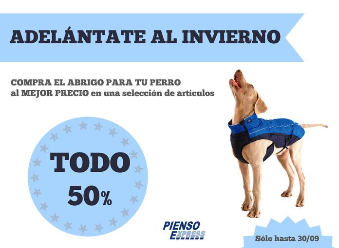 Abrigos para perros en Tienda de mascotas Pienso Express Arganzuela default:seo.title }}