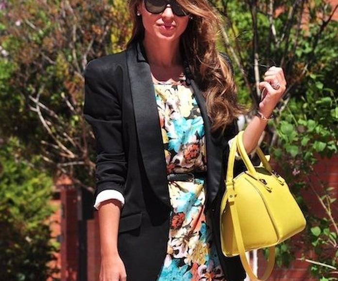 Beatriz, del blog de moda Necklace of pearls, confía en Llongueras Mirasierra- Madrid para cuidar su cabello