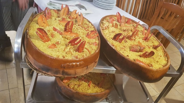 Arroz con bogavante: Hotel y Restaurante de Hotel Restaurante Rural El Roble