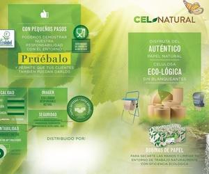 El autentico papel natural. Celulosa 100% Ecologica