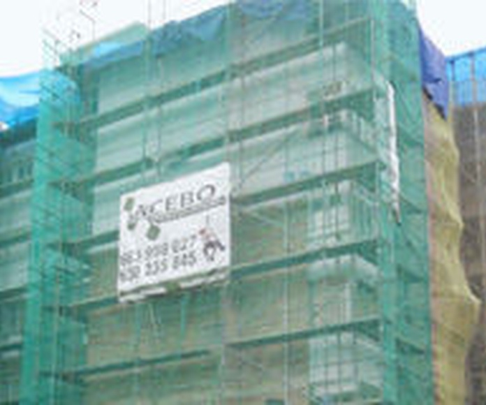 Rehabilitación integral de fachadas: TRABAJOS de Acebo Rehabilitación