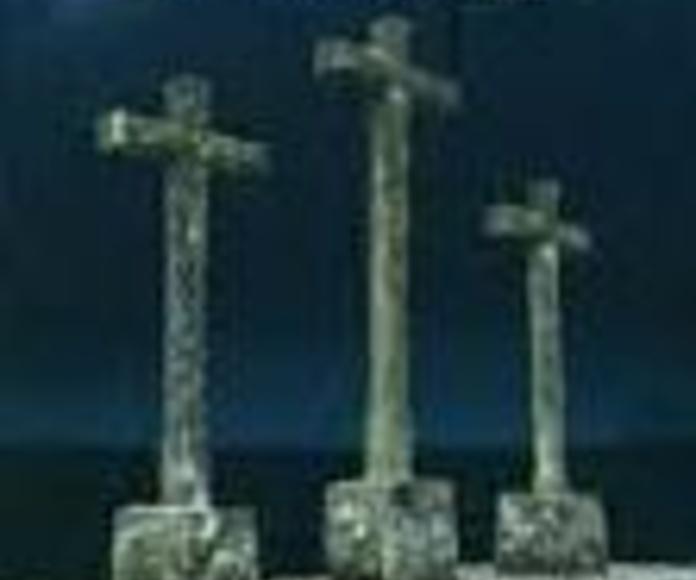 La cruz en la arquitectura tradicional de El Abadengo: SECCIONES de Librería Nueva Plaza Universitaria