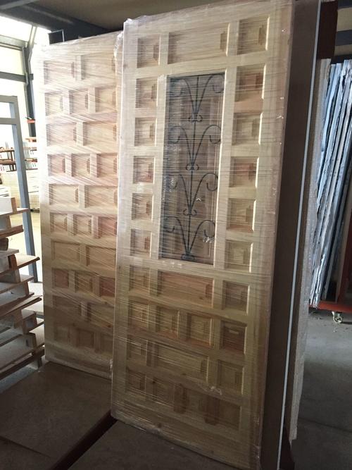 puertas castellanas con y sin ventano