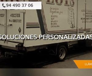 Empresas de mudanzas en Bizkaia | Mudanzas Luis