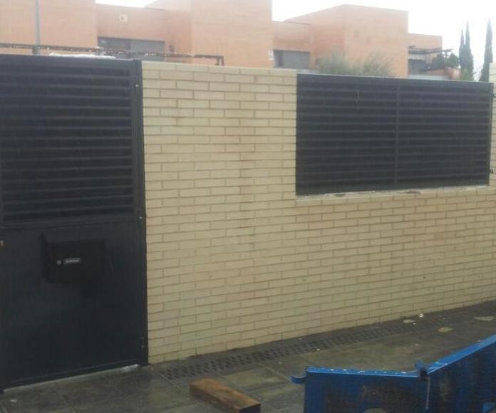 Puerta cancela de chalet: Cerrajería de Cerrajería Dugaval