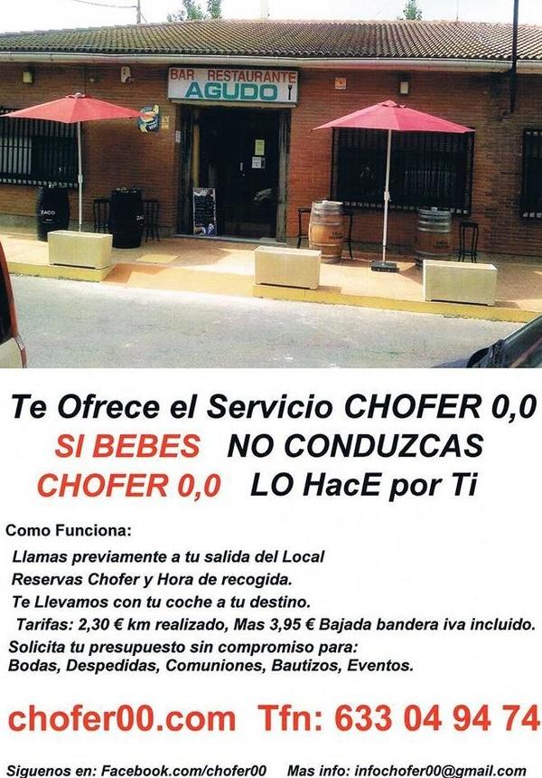 Servicio de chofer 0,0