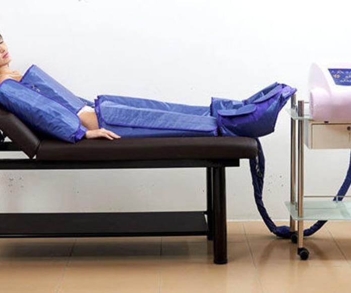 Presoterapia con Infrarrojos