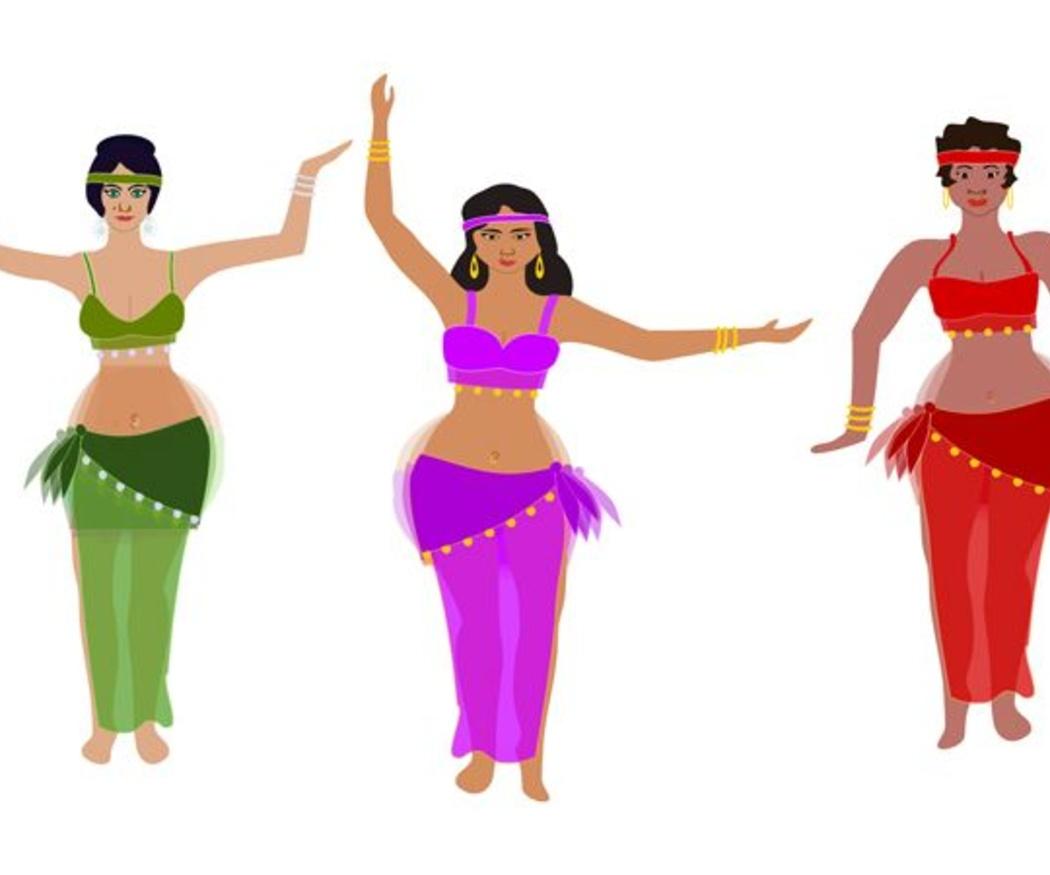 Tipos de danza del vientre
