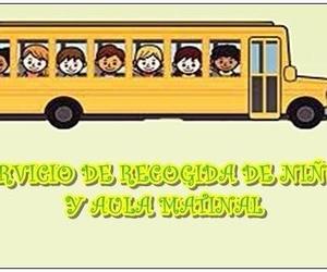 Servicio de recogida de niños y aula matinal