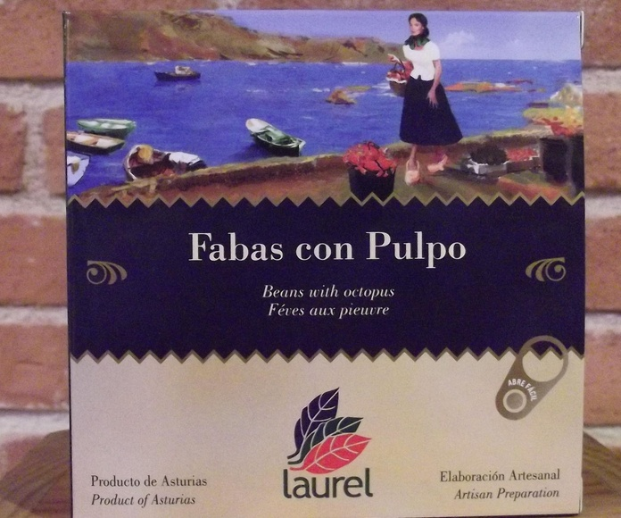 Fabes con pulpo.: Catálogo de  López Pascual