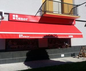 TOLDO PUNTO RECTO CON 3 BRAZOS Y LONA SUNVAS
