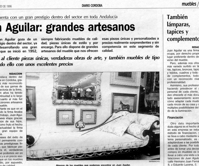 Articulo Diario Córdoba Marzo 1996