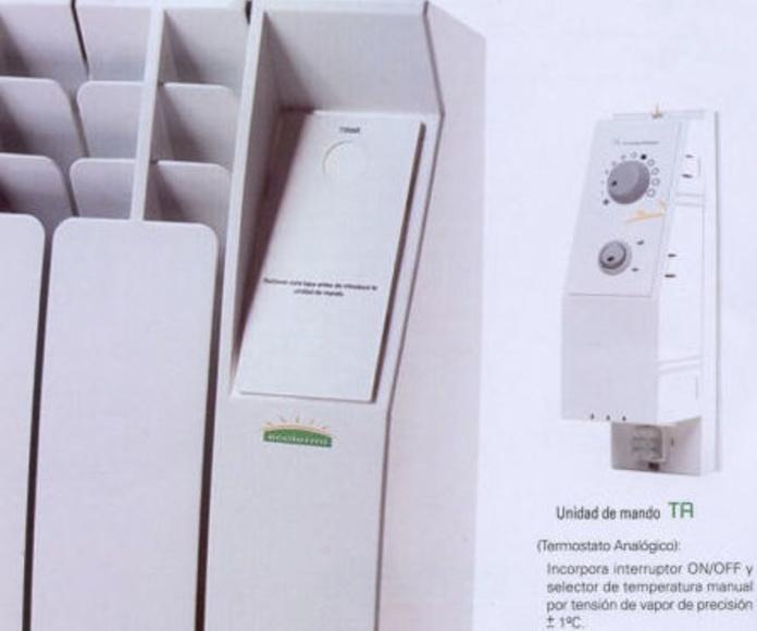 calefaccion ecologica de bajo consumo