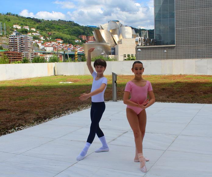 Estudio de ballet Ana Mª Aurrecoechea