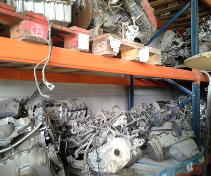Gran variedad de motores usados en Desguaces Clemente de Albacete