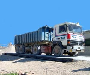 Báscula de camiones hasta 15 toneladas