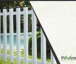 Vallas de PVC y productos de jardín