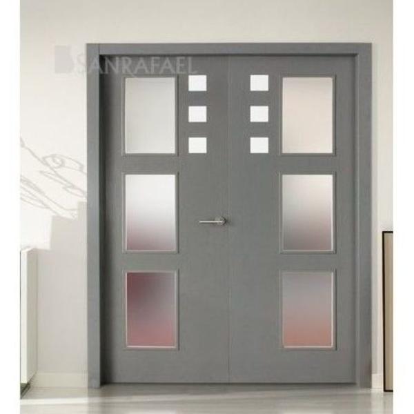 Puertas de diseño con aluminio e incrustaciones: Productos de Puertas Salazar