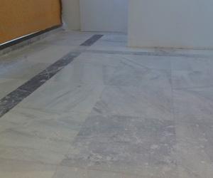 Restauracion suelo de marmol