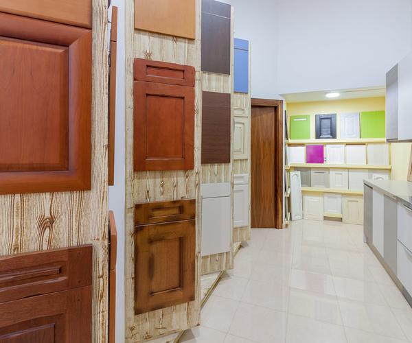 Puertas de armarios de cocina de madera