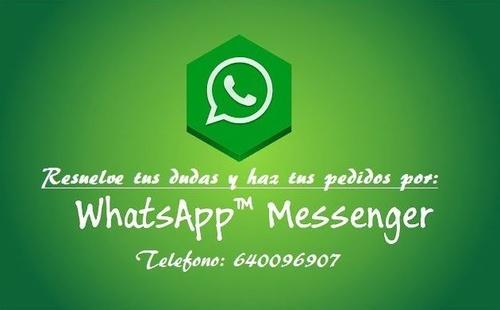 Whastapp de contacto