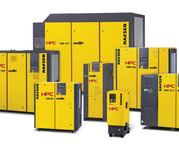 Distribuidores oficiales y servicio técnico de KAESER