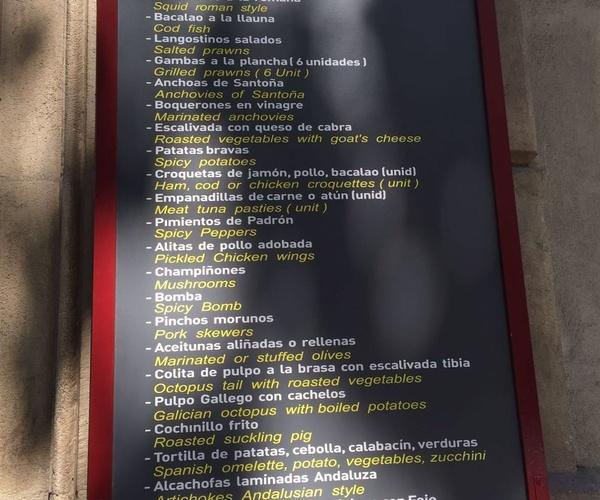 Las mejores tapas del Eixample, Barcelona