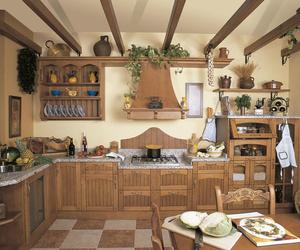 Muebles de cocina en madera estilo clásico modelo Doñana