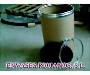 Envases cilíndricos de táblex