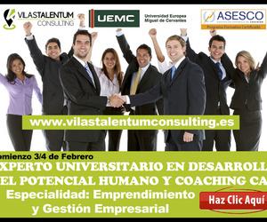 Especialista Universitario en Desarrollo del Potencial Humano y Coaching