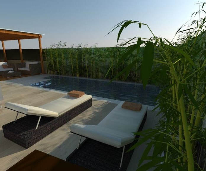 Diseños de jardín 3D
