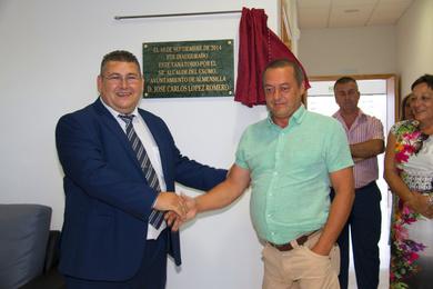 Inauguración del tanatorio de Almensilla