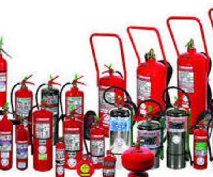 Extintores para vehículos
