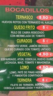 Bocatas especiales en Zaragoza