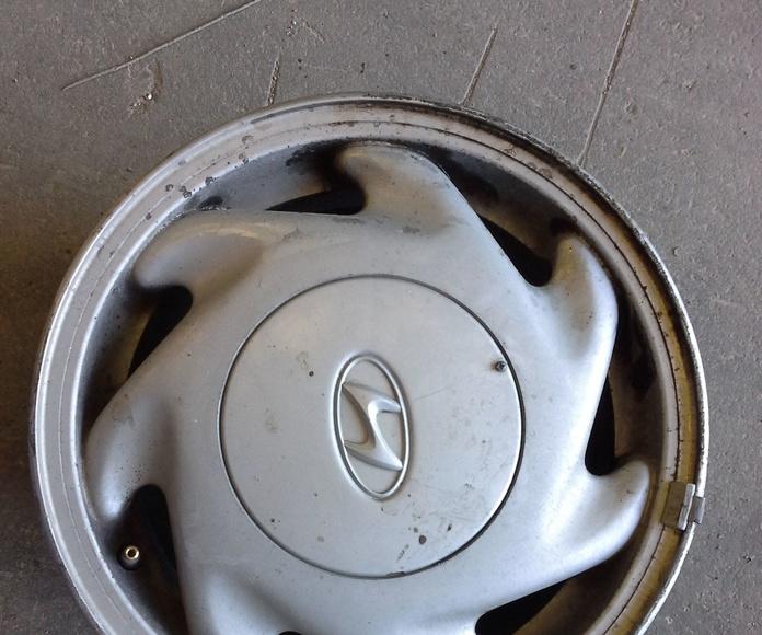 Llantas de aluminio de hyundai en R 14 en Albacete en desguaces clemente