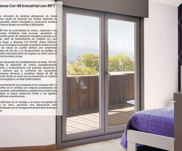 Cor 80 Industrial RPT: Catálogo de Jgmaluminio