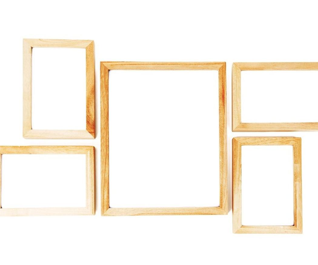 Decora tu casa con marcos vacíos